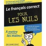 Le Français correct pour les Nuls de Jean-Joseph Julaud
