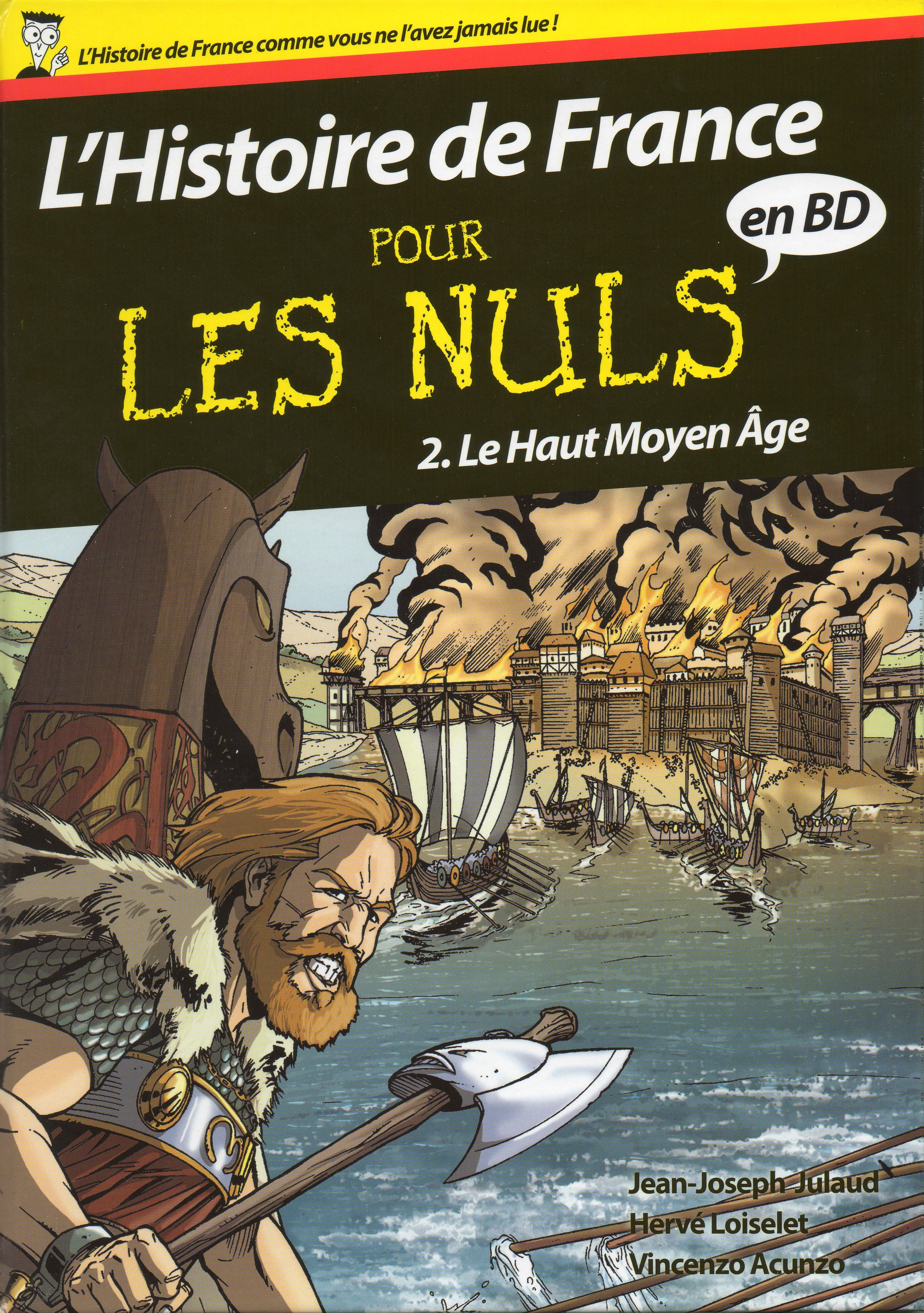 L&#039;Histoire de France pour les Nuls en BD, tome 2