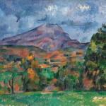 La Montagne Sainte Victoire - Paul Cézanne (1839 - 1906)