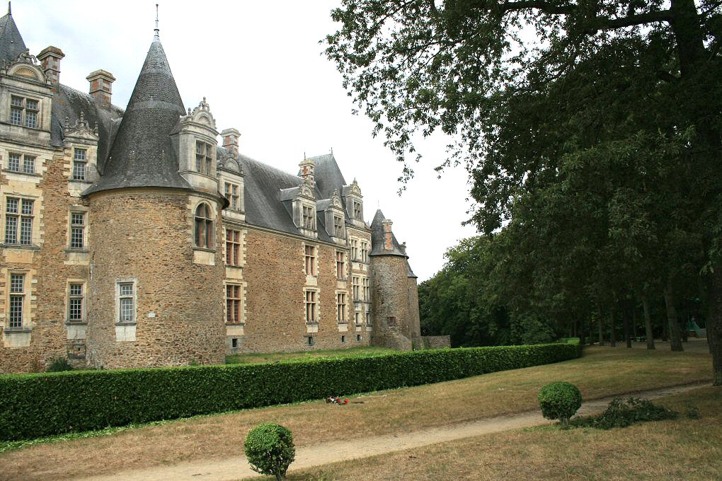 Le château de Châteaubriant.