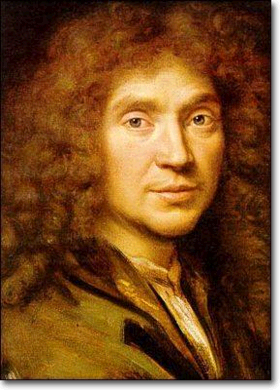 Jean-Baptiste Poquelin, dit Molière (1622 - 1673)