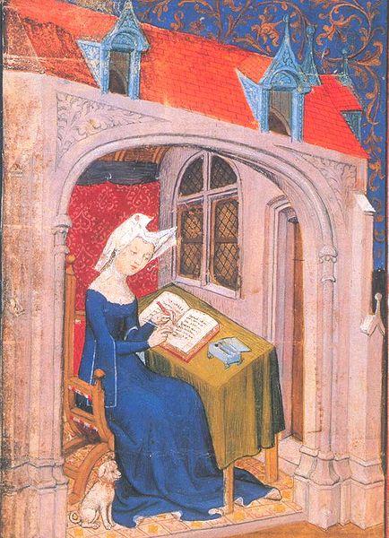 Christine de Pisan en 1407