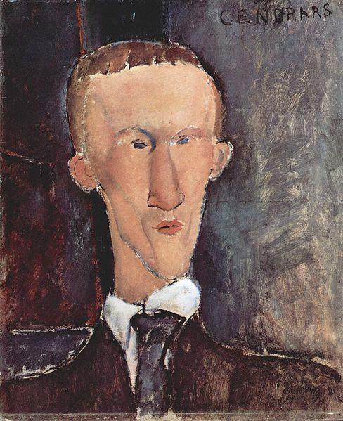 Blaise Cendrars par Amadeo Modigliani, 1917