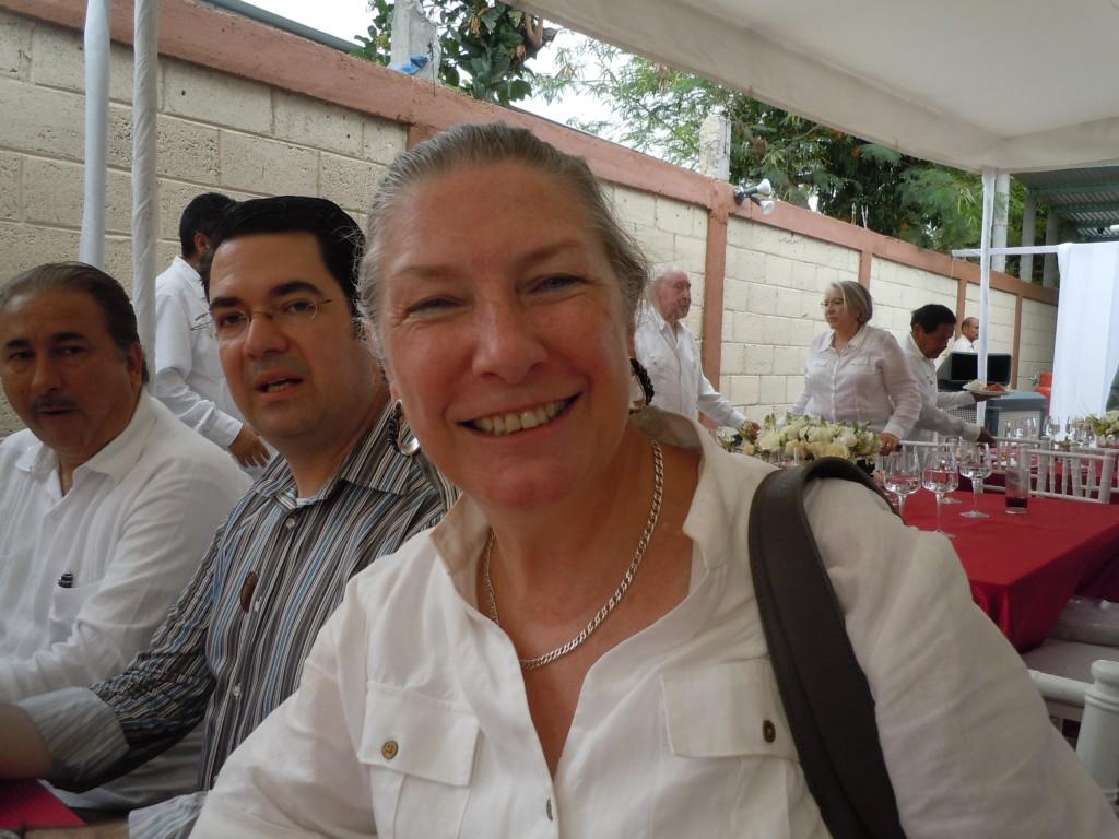 Madame Lygie de Schuyter, directrice de l'Alliance française de Xalapa, dans l'état de Veracruz et consul honoraire de France