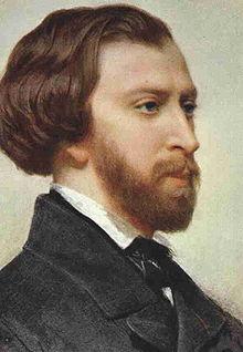 Alfred de Musset (1810 - 1857) par Charles Landelle (1821 - 1908)