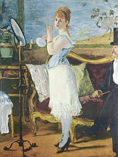 Nana, Edouard Manet, 1877