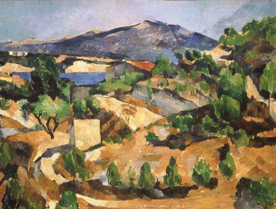Le Barrage Zola, Paul Cézanne