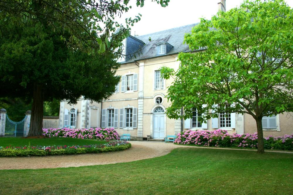 Demeure de George Sand à Nohant, dans l'Indre.
