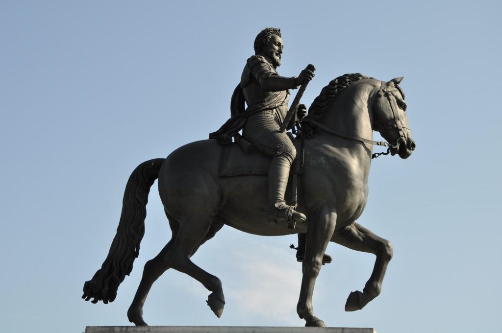 Henri IV défilait sur le Pont-Neuf...