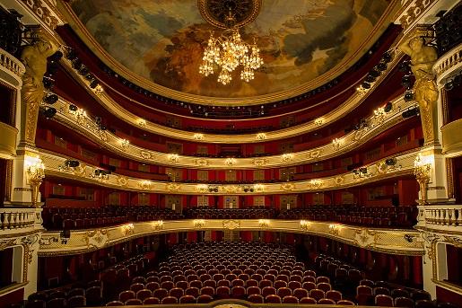 Comédie française, la salle Richelieu