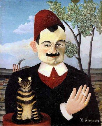 Pierre Loti (1850 - 1923) par Henri Rousseau, dit Le Douanier Rousseau (1844 - 1910)