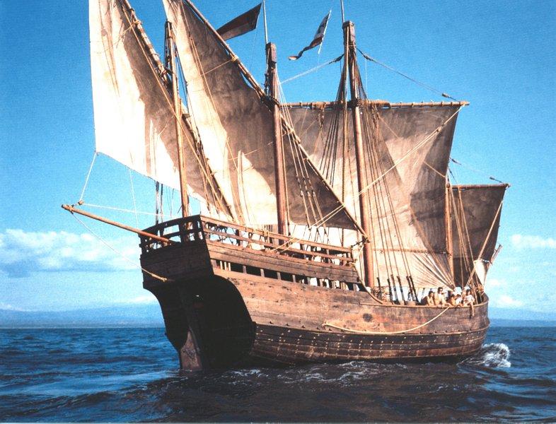La Niña, l'une des trois caravelles conquérantes du Nouveau Monde.