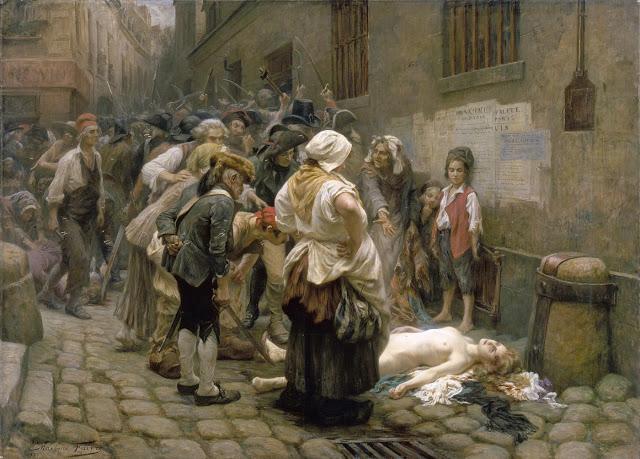 Mort de la princesse de Lamballe (le 3 septembre 1792), par Léon-Maxime Faivre (1856 - 1941)