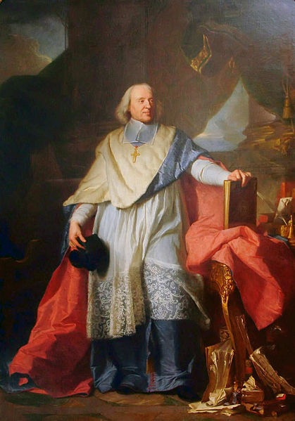 Jacques-Bénigne Bossuet (27 septembre 1627 à Dijon - 12 avril 1704 à Paris) prédicateur et écrivain, par Hyacinthe Rigaud (1649 - 1753).