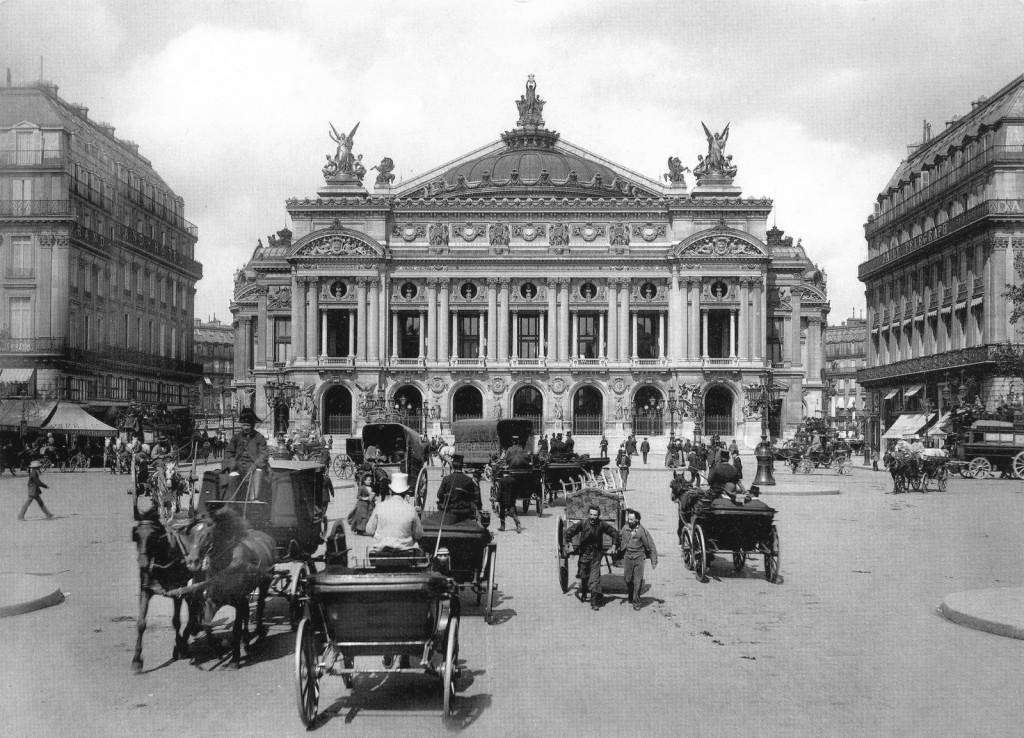 L'Opéra Garnier vers 1900