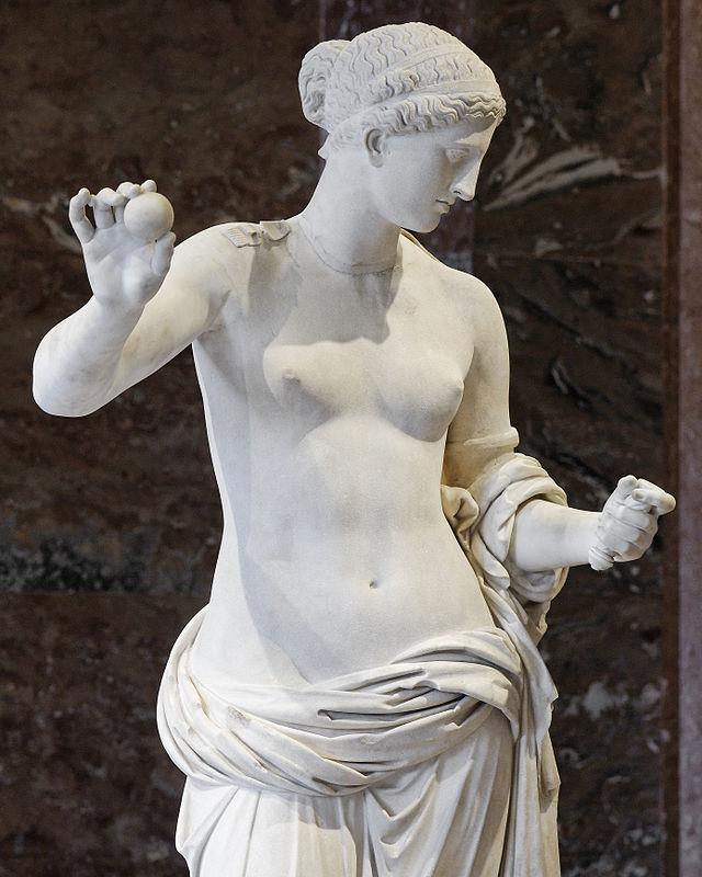 La Vénus d'Arles, découverte en 1651 lors de fouilles de vestiges romains, près du théâtre antique d'Arles.
