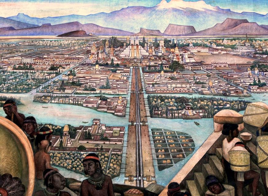 Tenochtitlan-Le-Marche-de-Tlatelolco-01
