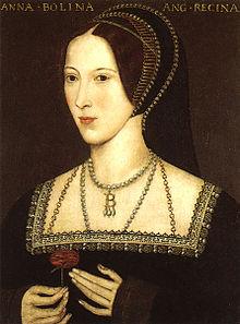 Anne Boleyn (1500 - 1536) décaptiée sur l'ordre du roi d'Angleterre Henri VIII, le 19 mai 1536.