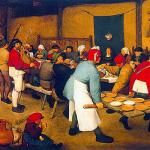 Noce paysanne, Brueghel, 1568 (Vienne, Kunsthistorisches Museum)