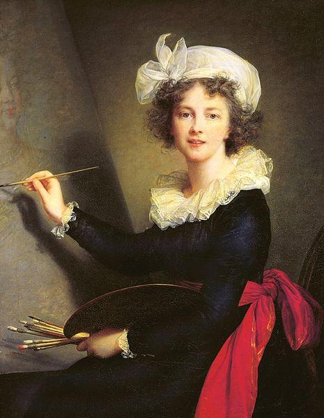 Louise-Elisabeth Vigée-Lebrun (1755 - 1842). Autoportrait (1790)