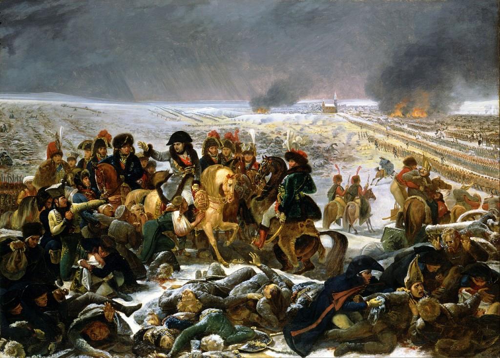 La bataille d'Eylau, par Antoine-Jean Gros (1771 - 1835)