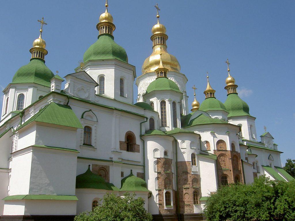 Cathédrale Saint-Sophie à Kiev. Premières fondations : 1037