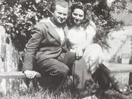 Hélène (1922 - 2014) et René Guy Cadou (1920 - 1951)