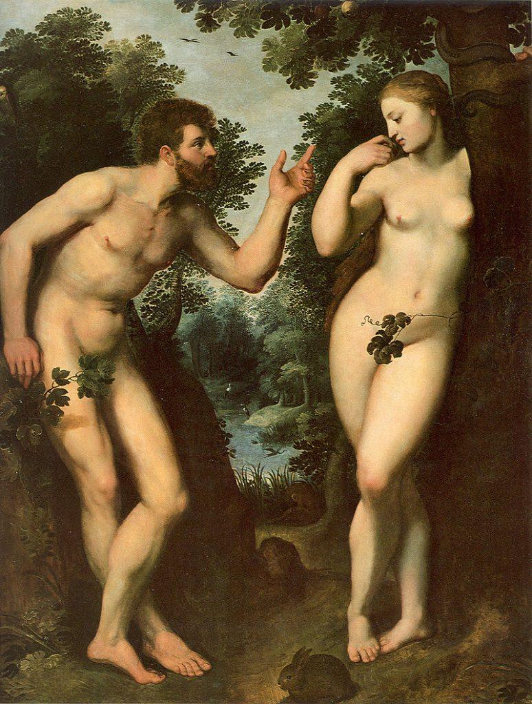 Adam et Eve (1628), Rubens (1577 - 1640)
