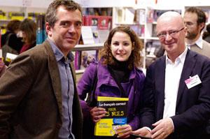 Dictée du salon du livre de Paris, mars 2010